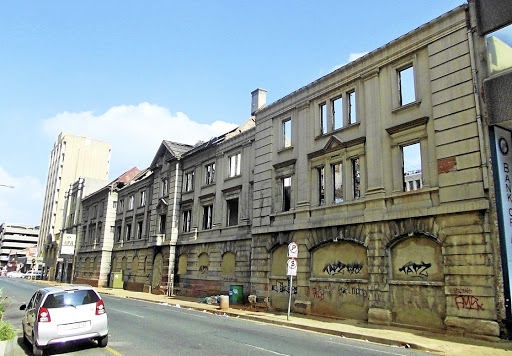 Marshall Street barracks, Johannesburg.