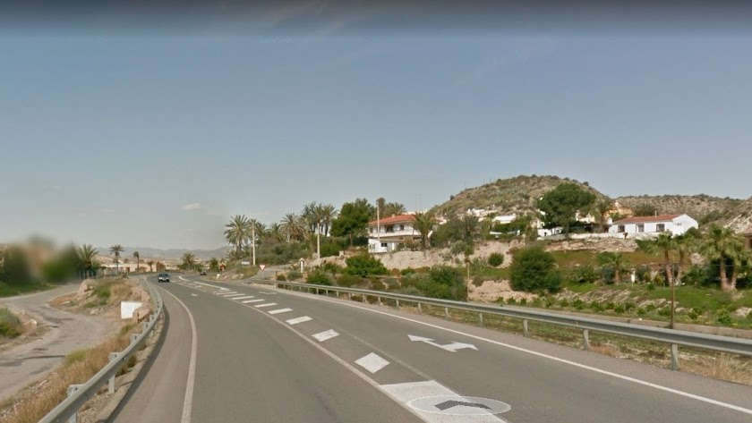 Lugar donde se ha producido el accidente.