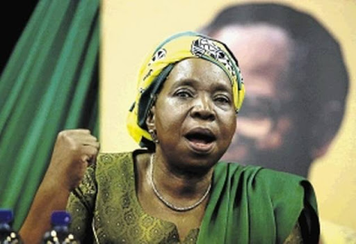 Dr. Nkosazana Dlamini-Zuma advised white people to get behind radical economic transformation because they would benefit from a peaceful and stable country.