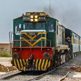 by Mohsin Raza - Transportation Trains (  )