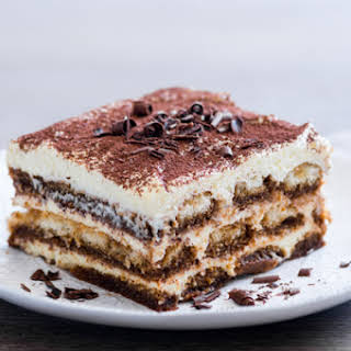 Kahlua Coffee Tiramisu.