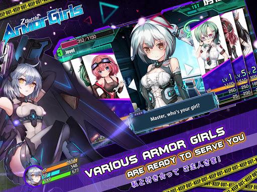 Armor Girls - Z Battle screenshot 5