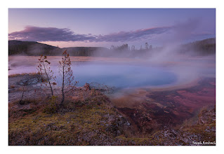 Photo: Witches Brew, Yellowstone National Park, Wyoming