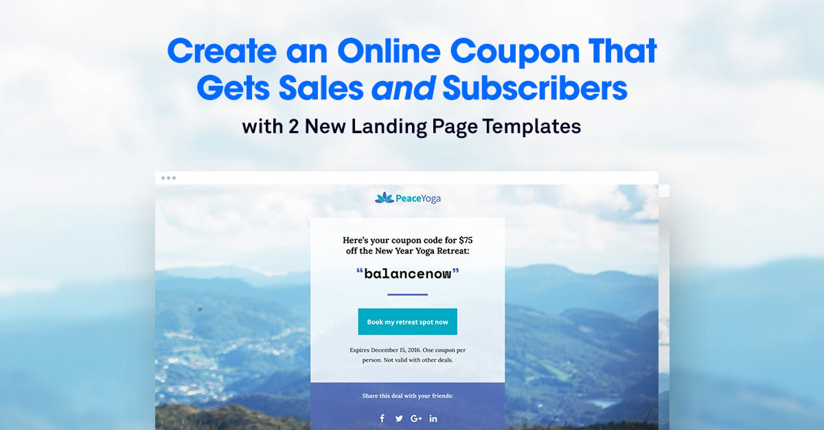 How to Create an Online Coupon That Gets Sales and Subscribers