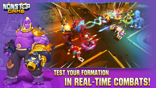 Nonstop Game: Cyber Raid android2mod screenshots 4