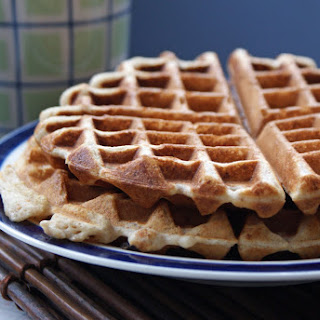 Maple Bran Waffles