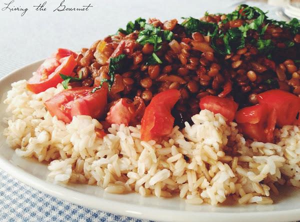 Lentils With Rice Recipe