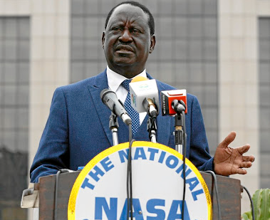 Raila Odinga. Picture: REUTERS