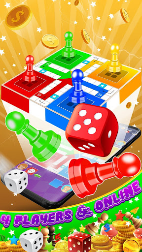 King of Ludo Dice Game with Voice Chat apkpoly screenshots 4