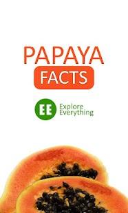 Papaya Facts screenshot