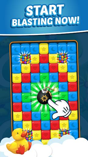 Toy Park: Match3 Puzzle, Blast Crush Toon Cubes  captures d'écran 2
