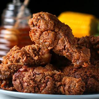 Honey-Glazed Fried Chicken.