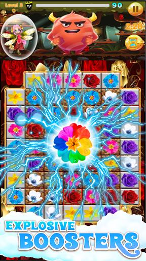 Flowers Blast - flower games 1.14 screenshots 17