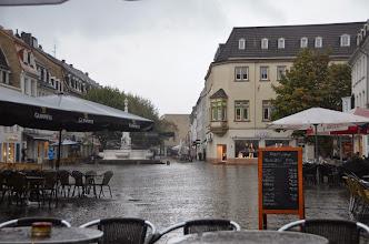 Photo: Saarbrucken in the rain