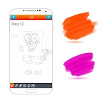 learn how to draw cartoon easy - screenshot thumbnail 02