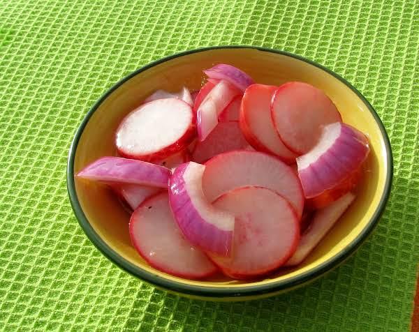 Marinated Radishes For Salads