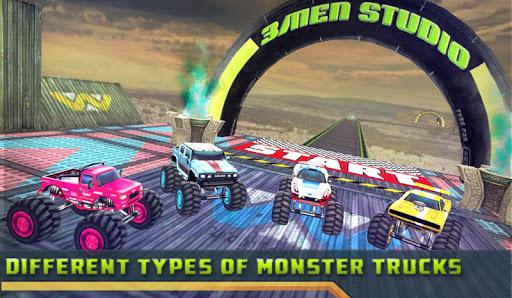 3D Grand Monster Truck : Impossible Derby Stunt screenshots 1