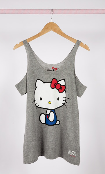 Photo: VANS x Hello Kitty Grey Tank http://bit.ly/N4DVLC
