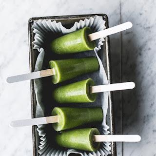 Green Smoothie Detox Pops Recipe