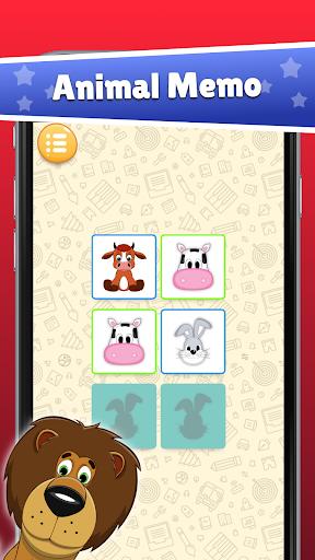 Animal Memo for Kids