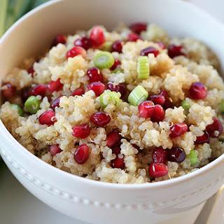 Pomegranate Salad with Quinoa Recipe