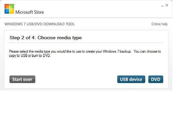 Download Windows USB/DVD Download Tool