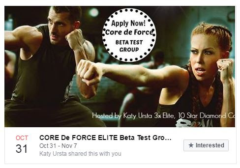 Core De Force Beta Test Group. Enroll Today!