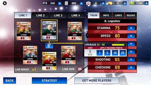 Hockey All Stars apkpoly screenshots 4