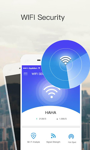 Wi-Fi Master Android App Screenshot