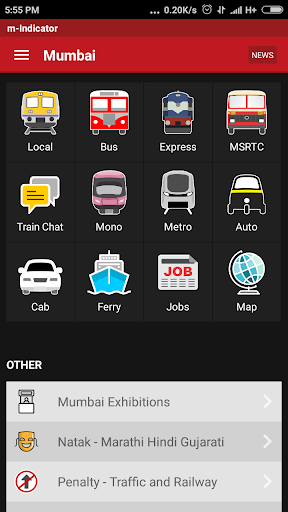 m-Indicator- Mumbai - Live Train Position screenshot 1