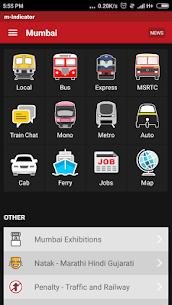 m-Indicator Apk- Mumbai – Live Train Position 1
