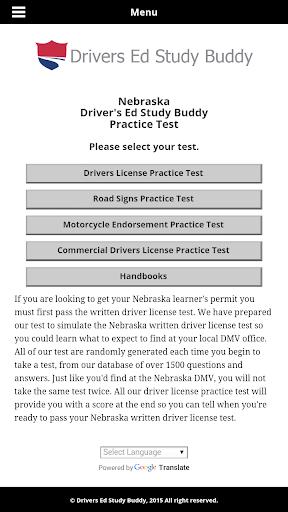 Nebraska Driver License Test