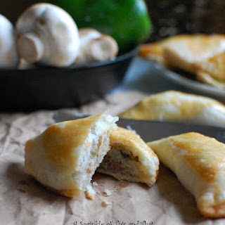 Philly Cheesesteak Empanadas
