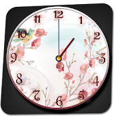 Flower Clock Widget
