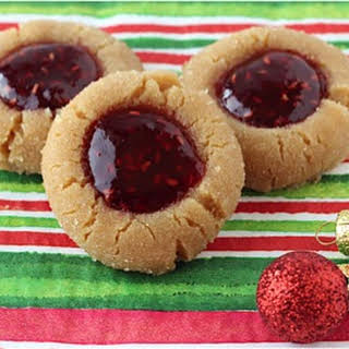 Peanut Butter and Jelly Cookie.