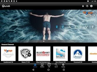 playtv@unifi (tablet)  APK Download - Free Entertainment Apps