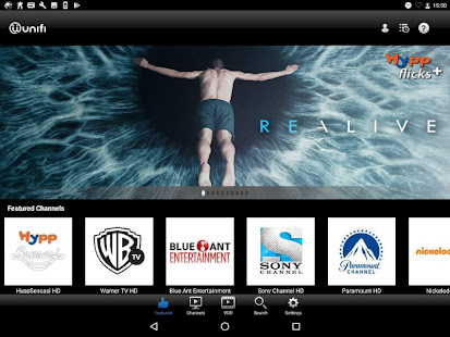 App playtv@unifi (tablet) APK for Windows Phone