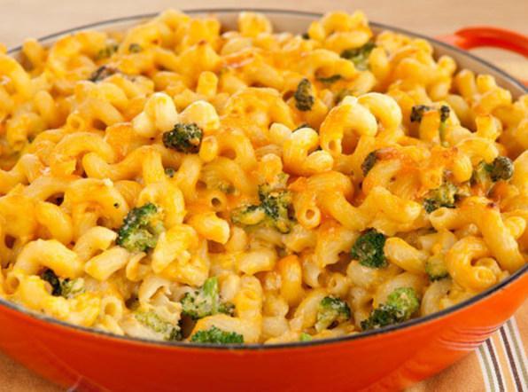 Macaroni & Cheese With Broccoli Recipe