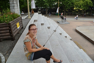 Photo: Selfie stick at Yongdusan Park