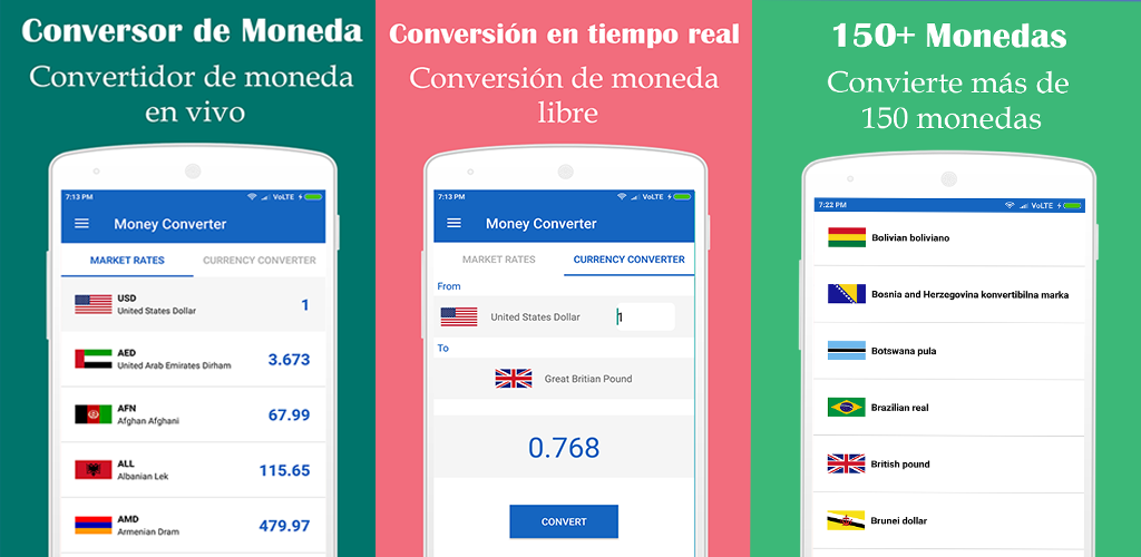 Currency Converter Real Time Money Screenshot