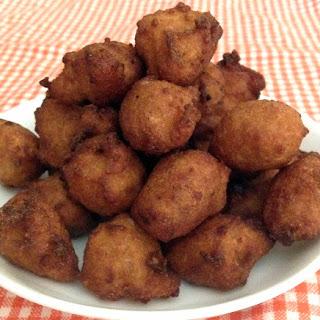 Jackfruit Fritters.