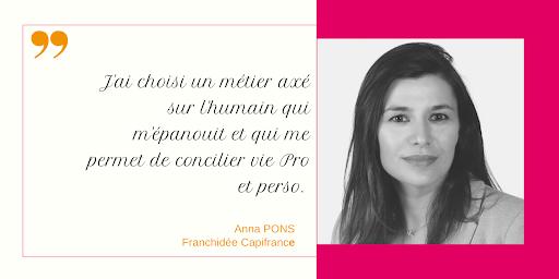 Anna franchisée CAPIFRANCE
