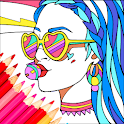 Coloring Pages Free - Coloring Book for Adults icon