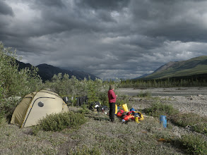 Photo: Camp 7/15 Latitude: 64.869437° N Longitude: 132.811232° W