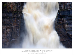 Photo: #WaterfallWednesday  High Force, Upper Teesdale  Here's a more conventional view of High Force waterfall from my recent Upper Teesdale trip, for #WaterfallWednesday curated by +Eric Leslie  Canon EOS 5D, EF70-200mm f/4L USM at 200mm, ISO 100, 1/10s at f22