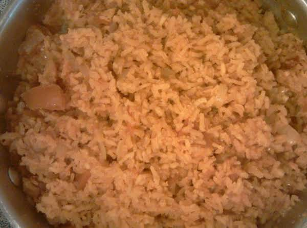 Shayne's Mexican Style Rice Recipe
