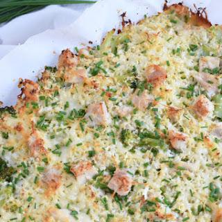 Broccoli Cauliflower Rice Chicken Casserole.