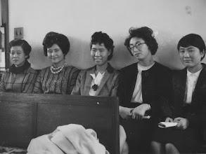 Photo: 1962年頃の女子青年会。