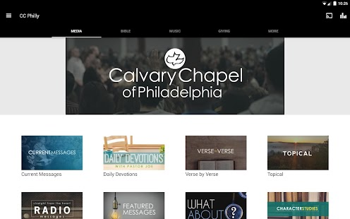 Calvary Chapel of Philadelphia- screenshot thumbnail
