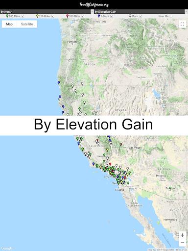 TourOfCalifornia.org: California Bicycle Rides screenshot 14